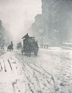 Winter on Fifth Avenue, 1893  Alfred Stieglitz