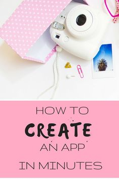 How to create an app in minutes for your business. Make Money Today, Make Money Blogging, Make Money Online, How To Make Money, Earn Money, Create Your Own App, How To Create Apps, App Marketing, Affiliate Marketing