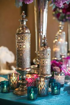 Filigree Candle Holders