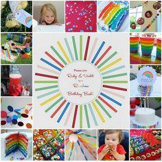 Rainbow theme party