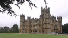 """""""Welcome to Downton""""  Actually-Highclere Castle"""