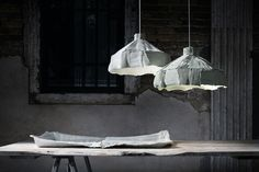 Paola Paronetto's creations are both artworks and furnishing objects or light at the same time. They are waterproof, washable and perfect for holding flowers or objects of any kind.