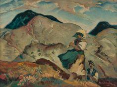 Martin Benka - Na rúbanisku, 1940 1940, Painters, Illustrators, Graphic Art, Illustration Art, Tapestry, Artist, Beauty, Landscape