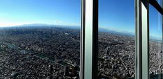 West view from Tokyo Sky Tree Observation Deck