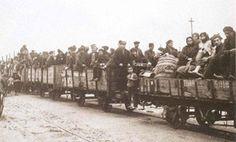 Greek refugees from Symrna, 1923