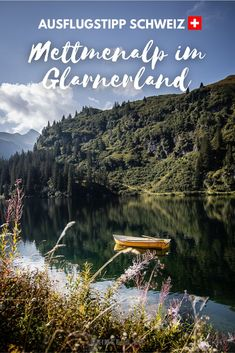 Ein Ausflugsziel im schönen Glarnernland in der Schweiz. Zum Wandern, Klettern und geniessen. Winterthur, Hotels, Der Bus, Switzerland, Hiking, River, Mountains, Nature, Movie Posters