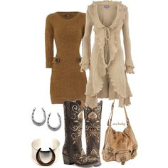 country girl on the town :-)
