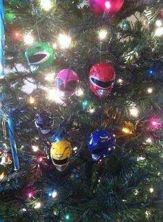 Power Rangers Christmas Ornaments