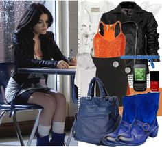 """PLL: Aria Montgomery :))"" by katijaa ❤ liked on Polyvore"