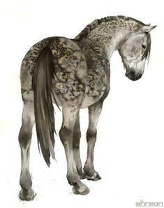 Watercolor Art Techniques Products Ideas For 2019 Watercolor Horse, Watercolor Animals, Watercolour, Horse Drawings, Animal Drawings, Art Aquarelle, Horse Illustration, Horse Artwork, Guache