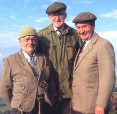 LAST OF THE SUMMER WINE--so i think im gonna start watching this cuz i remember seeing a few episodes of it when i was little British Sitcoms, British Comedy, British Actors, Peter Sallis, Last Of Summer Wine, English Comedy, Vicar Of Dibley, Bbc Tv Shows, Fools And Horses