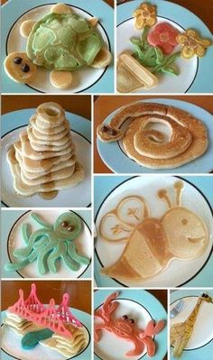 THIS ARE AWESOME IDEAS! :) Kids food #nuggetsmiles