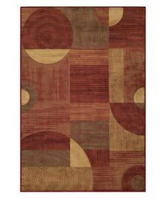 """Momeni Area Rug, Dream DR-01 Red 3' 11"""" x 5' 7"""""""