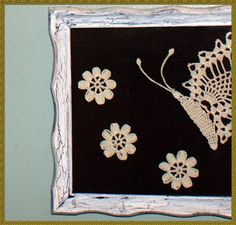 framed crochet pictures - Google Search