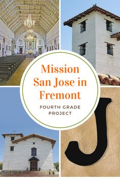 Mission San Jose has an interesting history and it's a good choice for Bay Area fourth graders, but the complex interior make model-building more difficult. San Jose California, California Missions, California Travel, Mission Projects, School Projects, Travel Expert, Interesting History, Model Building, Fourth Grade