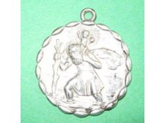 Saint Christopher Protect Us Vintage Sterling by CherishedSaints, $68.00