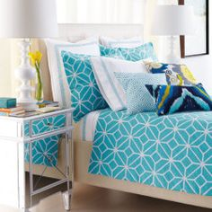 Bring Sophisticated Colors Home... simply add pops of color to any room.