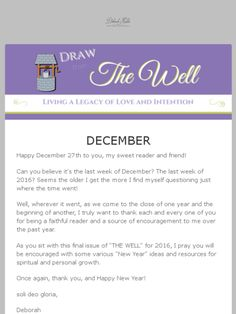 Ideas for bringing in a New Year -- One Word, self-reflection, vision boards deborahhaddix.com