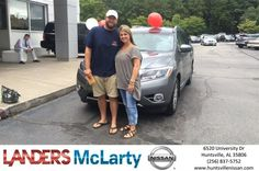 Congratulations Grant & LeAnn on your #Nissan #Pathfinder from Weston Callahan at Landers McLarty Nissan !  https://deliverymaxx.com/DealerReviews.aspx?DealerCode=RKUY  #LandersMcLartyNissan