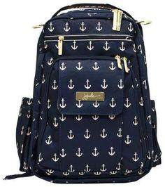 Ju-Ju-Be Legacy Be Right Back Backpack Diaper Bag - The Admiral