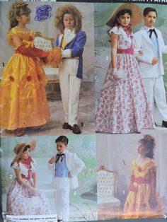 Beauty & The Beast Rhett Butler Scarlet OHara Stage Costume Cool Patterns, Stitch Patterns, Sewing Patterns, Halloween Costume Patterns, Halloween Costumes, Beauty And The Beast Costume, Rhett Butler, Scarlett O'hara, Stage Play