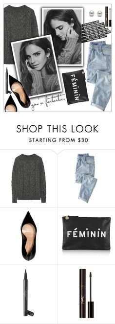 """Cozy"" by danielle-487 ❤ liked on Polyvore featuring Belstaff, Wrap, Sergio Rossi, Clare V., Chanel, Yves Saint Laurent, women's clothing, women's fashion, women and female"