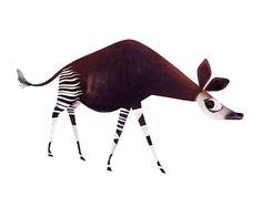 Okapi | From a unique collection of prints and multiples -works-on-paper/