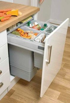 By finding inexpensive kitchen storage ideas, making things accessible, organizing by the type of items and getting rid of all the things you do not use, you may become the organization guru. For more ideas like this go to glamshelf.com #homeideas #kitchencabinets #kitchenstorage