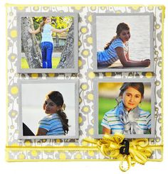 D.I.Y. Canvas Picture Frame