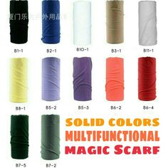 MultifunctionalScarfBuff