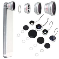 5in1 Selfie Camera Mobile Cell Phone Lens For iPhone Galaxy S3 S4 S5 S6 DC114
