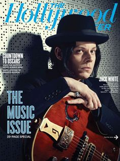 Jack White Covers The Hollywood Rreporter's 2nd Annual Music Issue