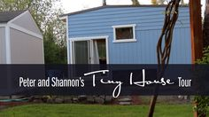 Peter & Shannon's Very small Dwelling Tour - http://www.freecycleusa.com/peter-shannons-very-small-dwelling-tour/