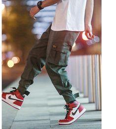 Privathinker Cargo Pants Men 2018 Mens Streetwear Joogers Pants Black Sweatpant Male Hiphop Autumn Pockets Trousers Overalls - Men's style, accessories, mens fashion trends 2020 Cargo Pants Outfit, Cargo Pants Men, Men Trousers, Pants For Men, Fashion Pants, Mens Fashion, Fashion 2020, Style Fashion, Tactical Cargo Pants