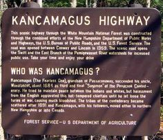 Kancamagus Highway starts in Maine, wraps through New Hampshire, and back into Maine White Mountain National Forest, Granite State, Vacations To Go, Vacation Memories, Us Road Trip, Moving To California, White Mountains, Beautiful Places To Visit, New Hampshire
