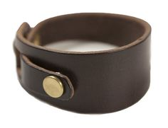 Billykirk Abstract Leather Cuff from Archival Clothing, $60.