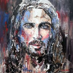 art on timber # www. Jesus Painting, Modern Art, Faces, Fictional Characters, Watercolor, Jesus Drawings, The Face, Contemporary Art, Fantasy Characters
