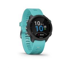 Garmin Forerunner 245 Gps Running Smartwatch with Music - Aqua (Blue) Smartwatch, Indoor Rowing, Running Form, Connect Online, Music Do, Thing 1, Training Plan, Fitness Tracker, Store