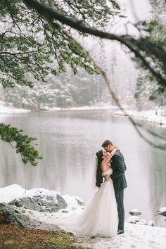 #EnzoaniRealBride Solomita's Winter Wedding at Lake Tahoe / Love4Wed