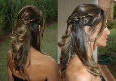 penteado simples para casamento - Pesquisa Google