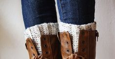 The last post I did for the crocheted boot cuffs had a lot of questions and problems with the pattern. So! I have an updated version. ...