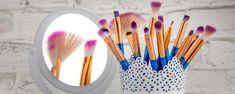 Cum sa iti cureti pensulele de machiaj Toothbrush Holder, Up