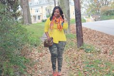 Mixing Patterns for Fall. BeautyFash {from Sequins to Cilantro}