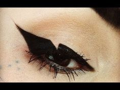 Kat Von D shows you how to get her cut-out liquid liner look. #Sephora #Video #HowTo