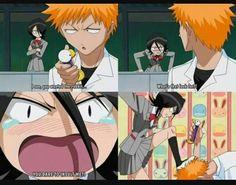 Rukia's attitude though :)