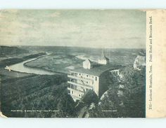 Divided-Back POINT HOTEL & MOCCASIN BEND Lookout Mountain Tennessee TN t0118