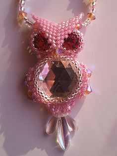 An evil pink owl, how charming...