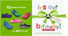 This weekend at Crocs there is free delivery on all clogs! From children's to adult's, get the clogs you want without having to pay for shipping! There is no minimum order threshold on this, and the offer is valid from 20/07/2012 until midnight 22/07/2012.