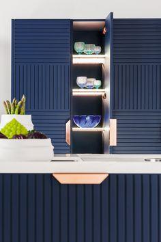 #Kitchen with island with handles MIUCCIA - @tmitaliacucine