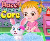Baby Hazel Pet Rabbit Care Games
